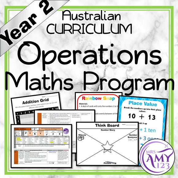 Year 2 Operations Maths Program