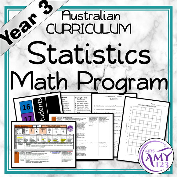 Year 3 Statistics Maths Program