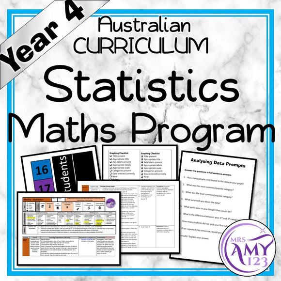 Year 4 Statistics Maths Program