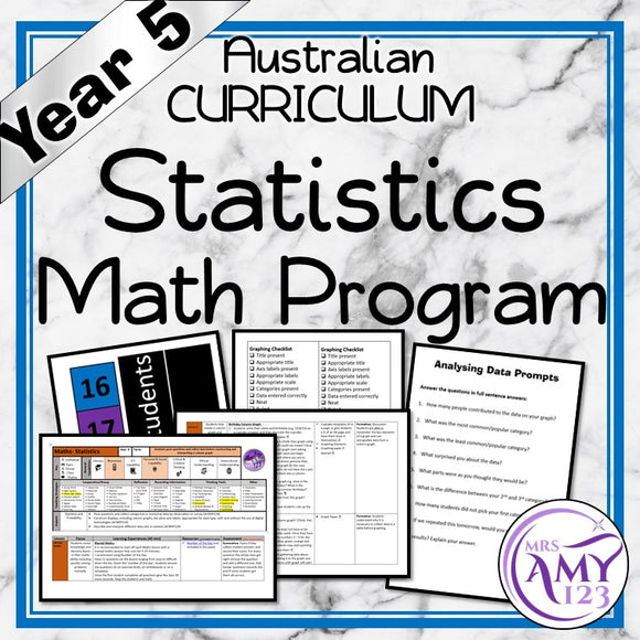 Year 5 Statistics Maths Program