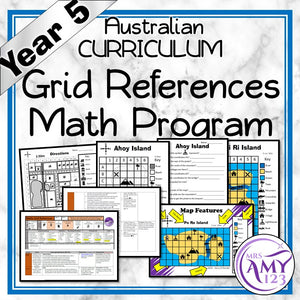 Year 5 Grid References Maths Program