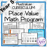 Year 5 Place Value Maths Program