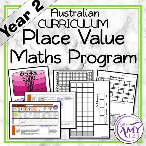 Year 2 Place Value Maths Program