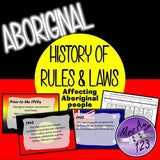 History of Rules and Laws Affecting Aboriginal People