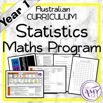 Year 1 Statistics Australian Curriculum Maths Program