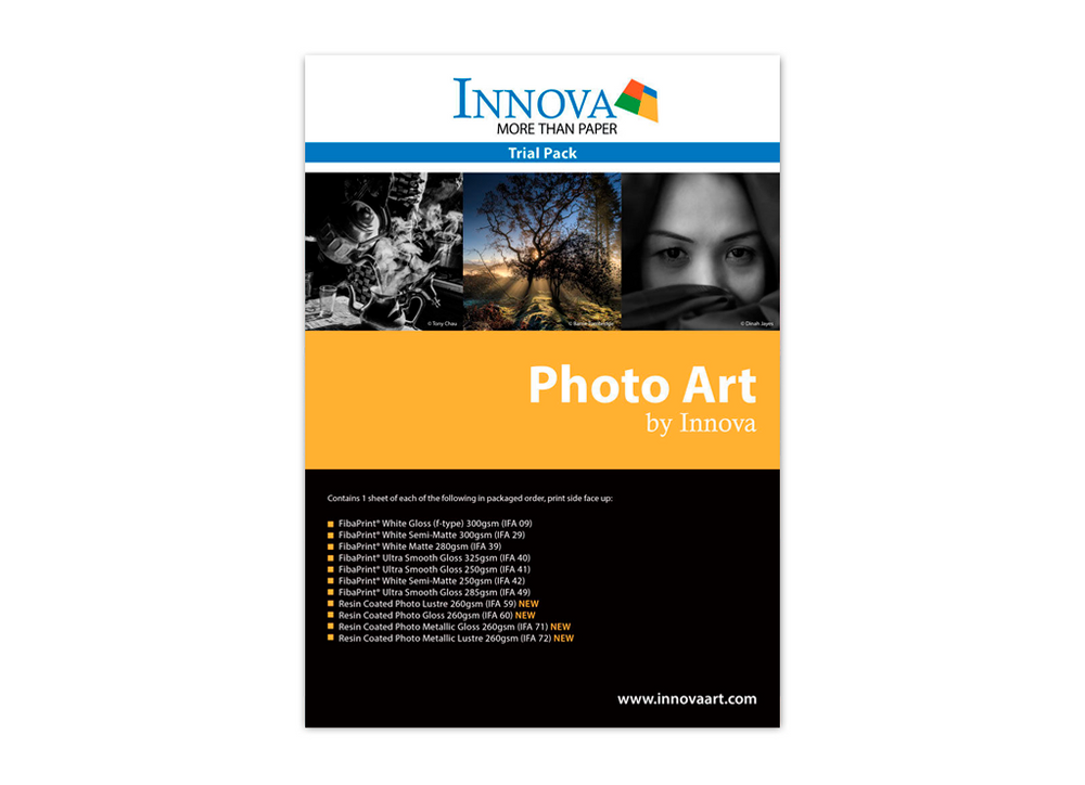 Innova Photo Art Sample Pack