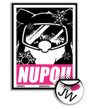 Load image into Gallery viewer, Nupqu Bear Vinyl Sticker