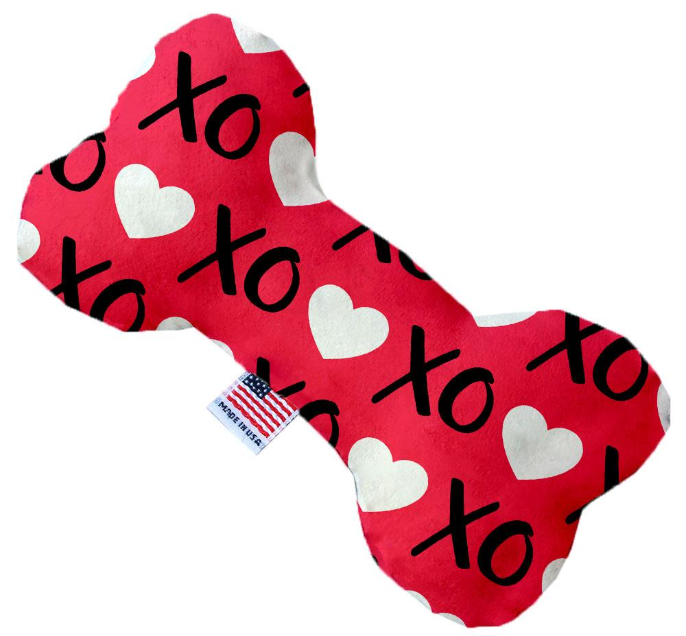 Red XOXO Canvas Dog Toys - staygoldendoodle.com