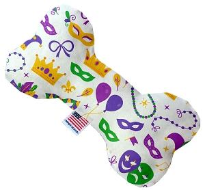 Mardi Gras Masks Canvas Dog Toys - staygoldendoodle.com