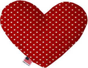 Red Stars Canvas Dog Toys - staygoldendoodle.com