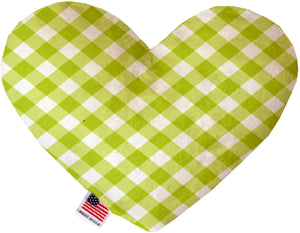 Lime Green Plaid Canvas Dog Toys - staygoldendoodle.com