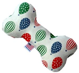 Hot Air Balloons Canvas Heart Dog Toys - staygoldendoodle.com