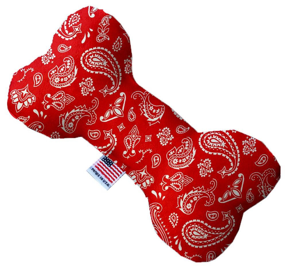 Red Western Canvas Dog Toys - staygoldendoodle.com