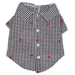 Gingham Hearts Shirt