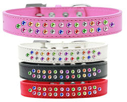 Bella's Bling Two Row Confetti Collar