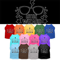 Little Wizard Dog Shirt