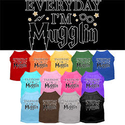 Every Day I'm Mugglin' Dog Shirt