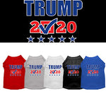 Trump 2020 Screen Print Check Box Dog T-Shirt from StayGoldenDoodle.com