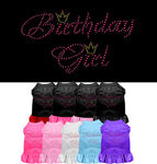 Birthday Girl Rhinestone Dress - Stay Golden Doodle
