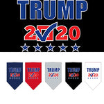 Trump 2020 Screen Print Check Box Bandanas from StayGoldenDoodle.com