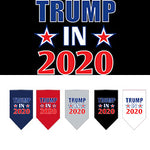Trump 2020 Screen Print Bandanas from StayGoldenDoodle.com