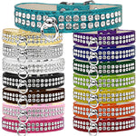 Bella's Bling 2-Row Rhinestone Croc Collar #72