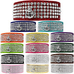 Bella's Bling 5-Row Rhinestone Croc Collar