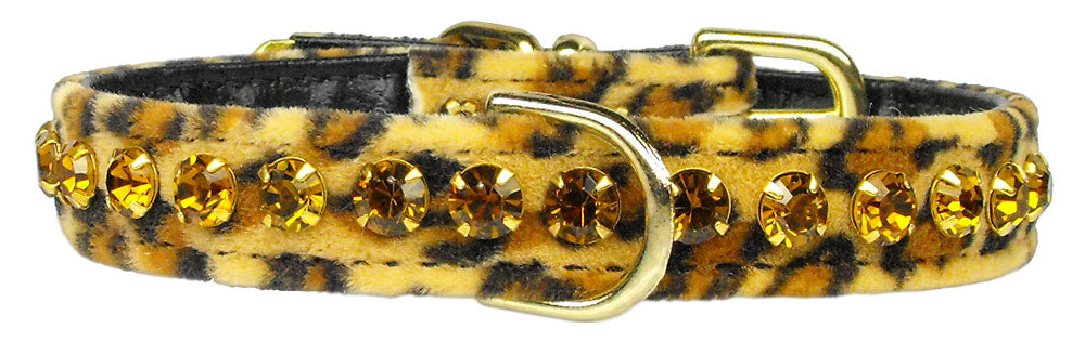 Tropical Dazzler Leopard Crystal Collar - staygoldendoodle.com