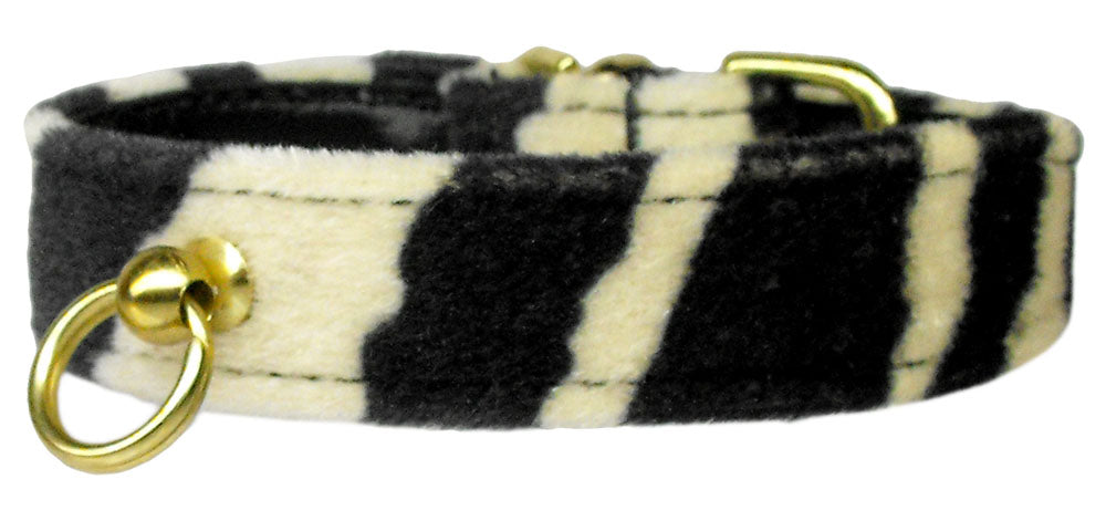 Zebra Animal Print Dog Collar - staygoldendoodle.com