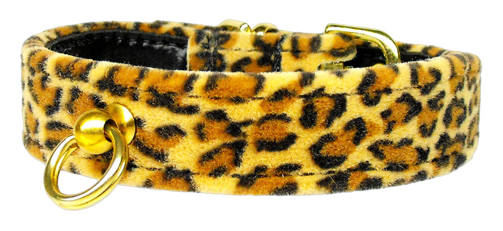 Leopard Animal Print Dog Collar - staygoldendoodle.com