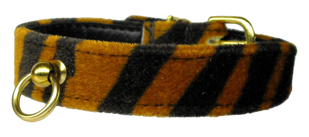 Tiger Animal Print Dog Collar - staygoldendoodle.com