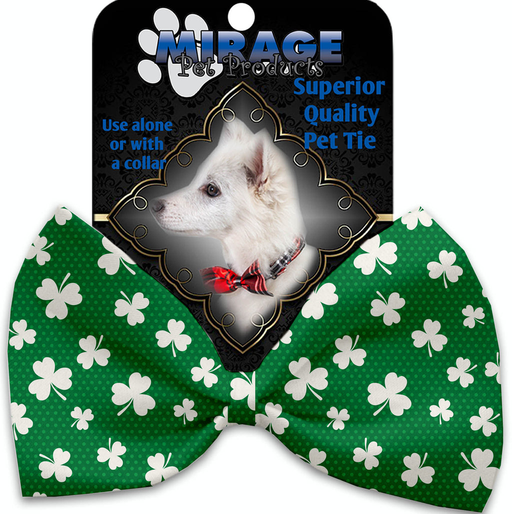 Shamrock Pet Bow Tie Collar Accessory With Velcro - staygoldendoodle.com