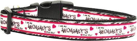Mommy's Mini Me Nylon Collar Medium - staygoldendoodle.com