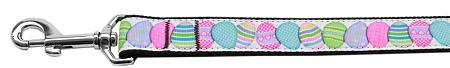 Easter Egg Nylon Dog Leash 4 Foot - staygoldendoodle.com