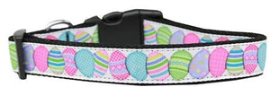 Easter Egg Nylon Dog Collar Medium - staygoldendoodle.com