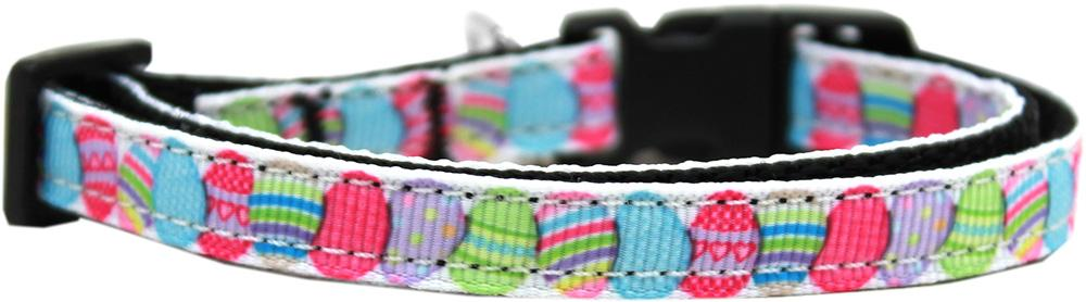 Easter Egg Nylon Ribbon Dog Collar Xs - staygoldendoodle.com