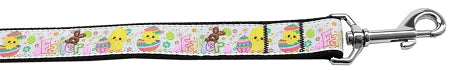 Happy Easter Nylon Dog Leash 5-8 Inch Wide 6ft Long - staygoldendoodle.com