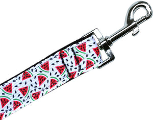 Watermelon Nylon Pet Leash 5-8in By 6ft - staygoldendoodle.com