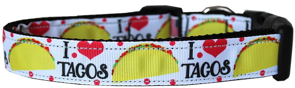 Taco Tuesday Nylon Dog Collar - staygoldendoodle.com