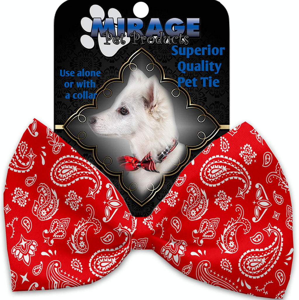 Red Western Pet Bow Tie - staygoldendoodle.com