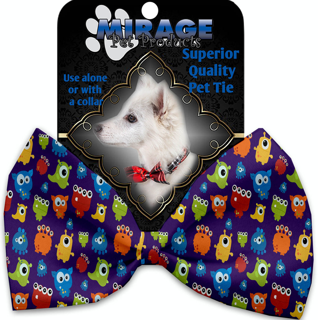 Party Monsters Pet Bow Tie Collar Accessory With Velcro - staygoldendoodle.com