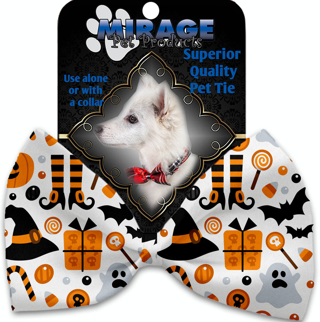 Classic Halloween Pet Bow Tie Collar Accessory With Velcro - staygoldendoodle.com
