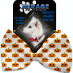 Happy Pumpkins Pet Bow Tie Collar Accessory With Velcro - staygoldendoodle.com