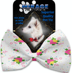 Sweet Love Pet Bow Tie Collar Accessory With Velcro - staygoldendoodle.com