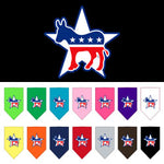 Democrat Screen Print Bandanas from StayGoldenDoodle.com