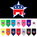 Republican Screen Print Bandanas from StayGoldenDoodle.com