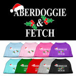 Aberdoggie & Fetch screen print pet shirt