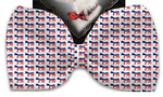 Democrat Pet Bow Tie Collar Accessory with Velcro