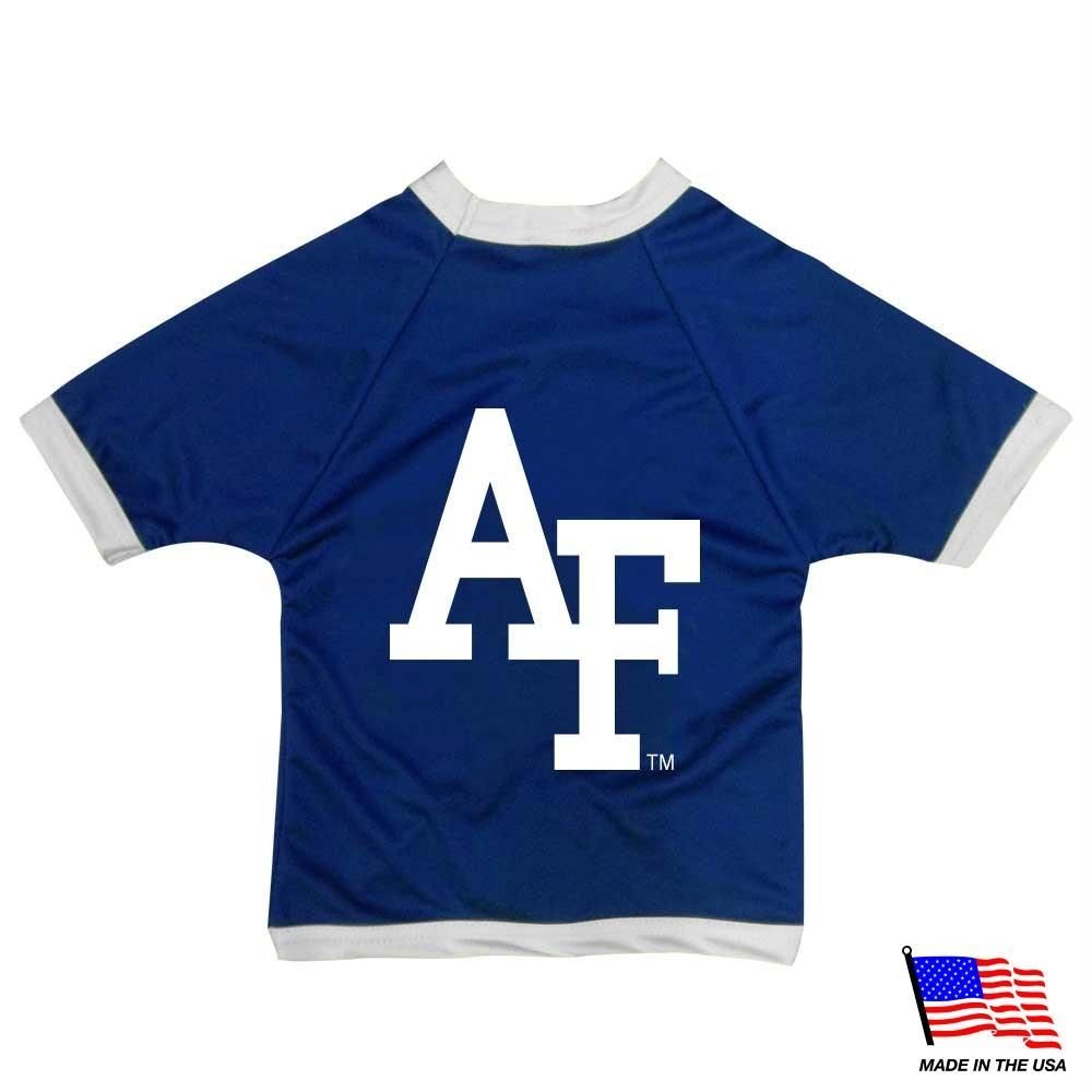Air Force Falcons Athletic Mesh Pet Jersey - staygoldendoodle.com