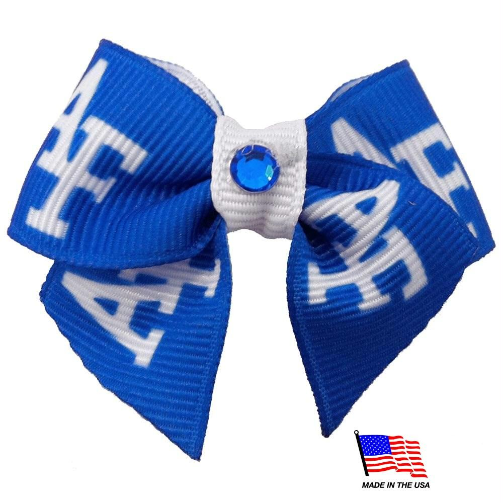 Air Force Falcons Pet Hair Bow - staygoldendoodle.com